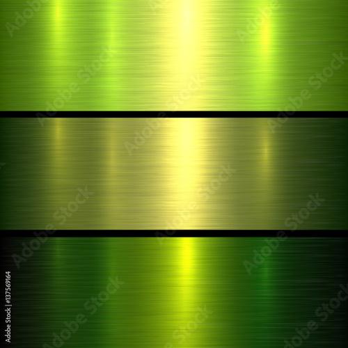 Metal green texture background\