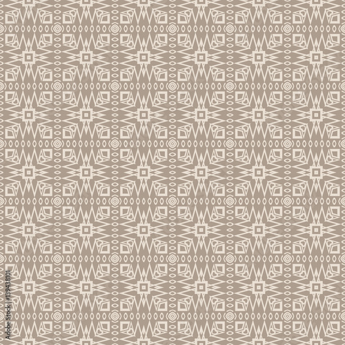 seamless sophisticated geometric pattern based on repetitive simple