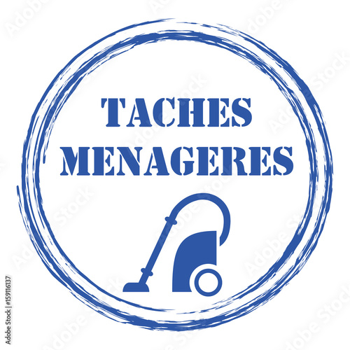 Logo tâches ménagères\ - les taches menageres