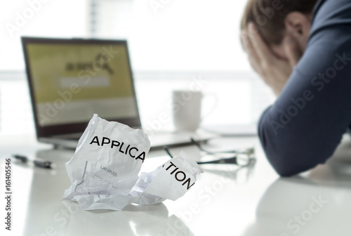 Frustration in job search Unemployed man cant\u0027 find work Jobless
