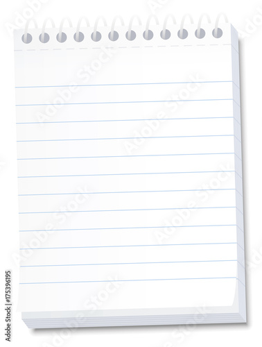 Notepad for memos, messages, notes, lists, dates, deadlines