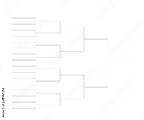 team Tournament bracket templates\