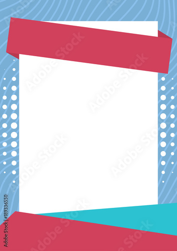 Abstract pastel color blank poster background\