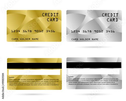 modern credit card, business VIP card, design for privilege member
