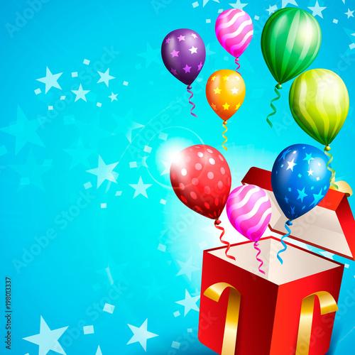 Birthday invitation card, birthday background \