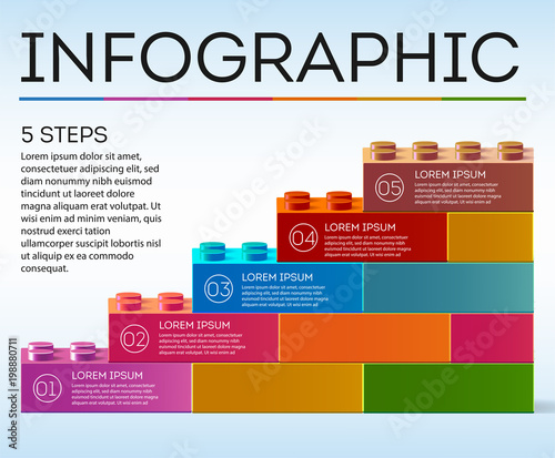 Infographic Business infographics Business steps infographics
