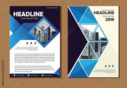 Business abstract vector template Brochure design, cover modern