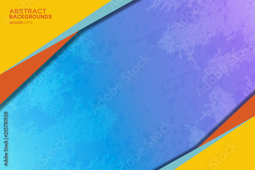 Abstract Backgrounds Design with grunge texture for business banner
