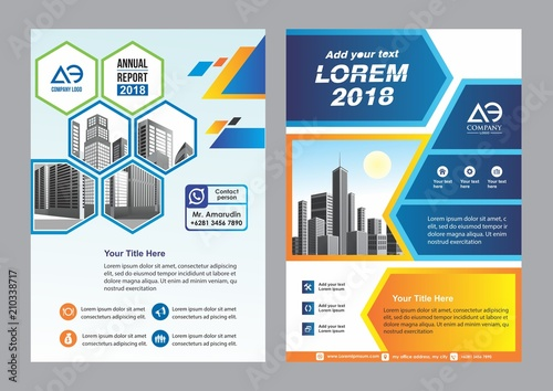 simple cover, layout, brochure, magazine, catalog, flyer for