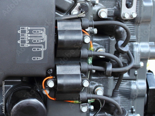 Wiring diagram, ignition coils and high voltage wires with tips on