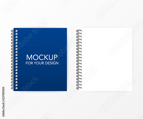 Blank lined paper template, one page, Notebook end Exercise book