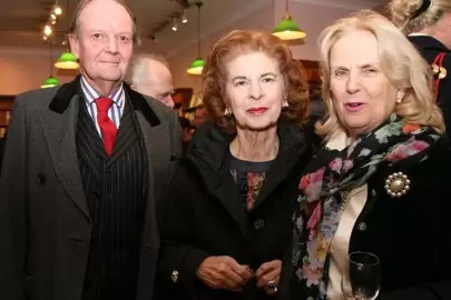 Lady Hannams Summer39s Grace Book Launch Party At Daunt