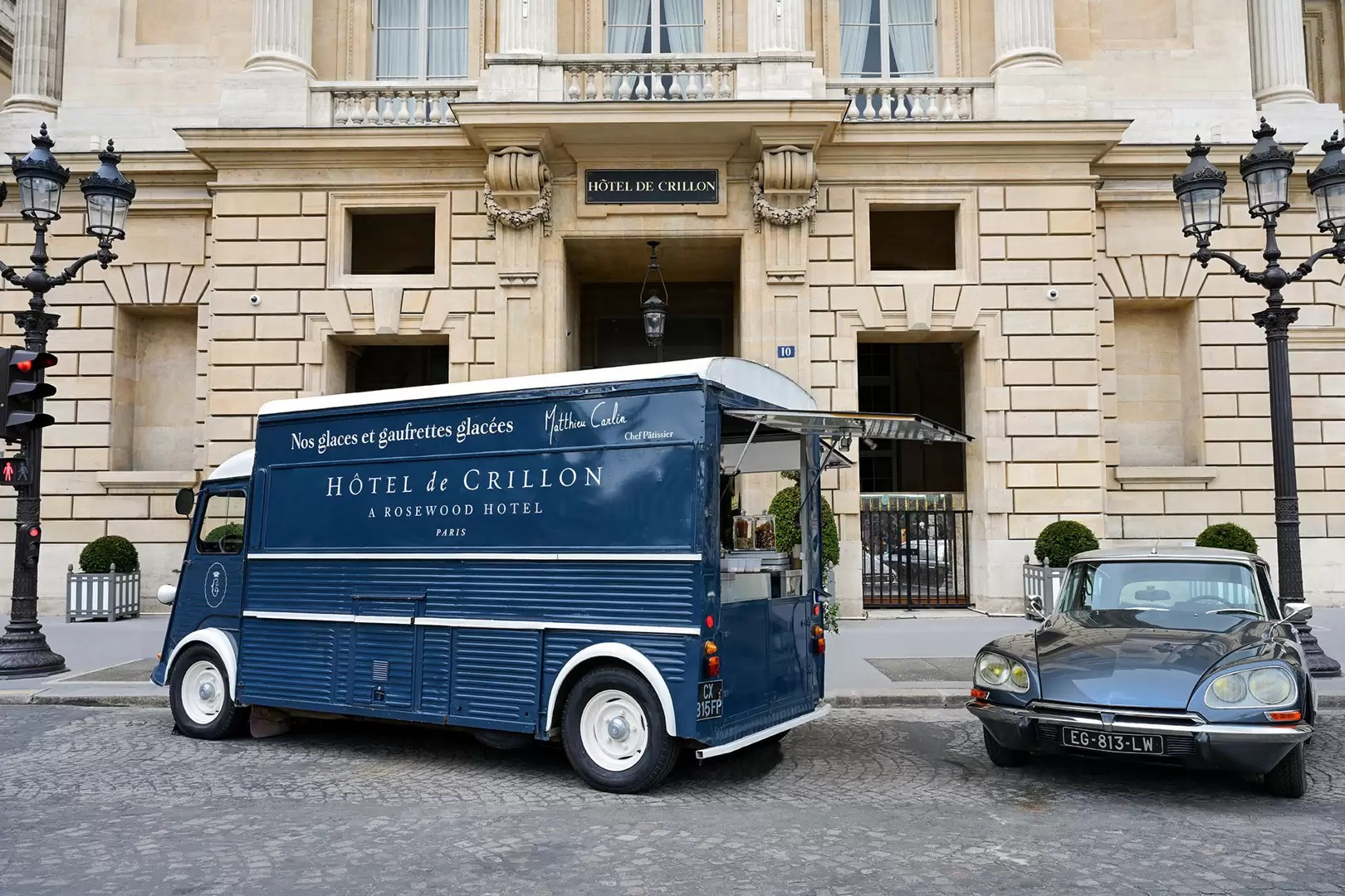 Ice Cream Truck At Hôtel De Crillon Until 30 September Tatler