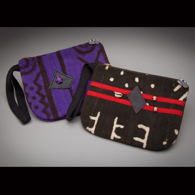 Purple + BLK Mud Wristlets
