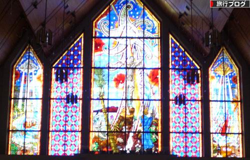 ホーリートリニティ教会ステンドグラス