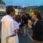 TheoDom : veillée avec la paroisse et évangélisation de rue