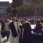 Frère Mathieu Gauthier (Marseille, Province de Toulouse) et frère Jean-Baptiste Rendu