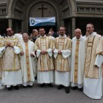 Les nouveaux diacres et le Provincial de France