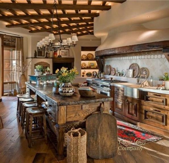 Kitchen Southwest Soft Contempoary Style Kitchen