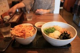 trop de Udon et de riz mais délicieux.