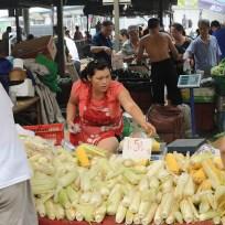 Le matin, comme tout le monde, on part au marché…