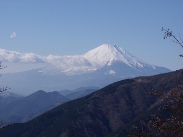 """神奈川大山 """"富士山と両詣り"""""""