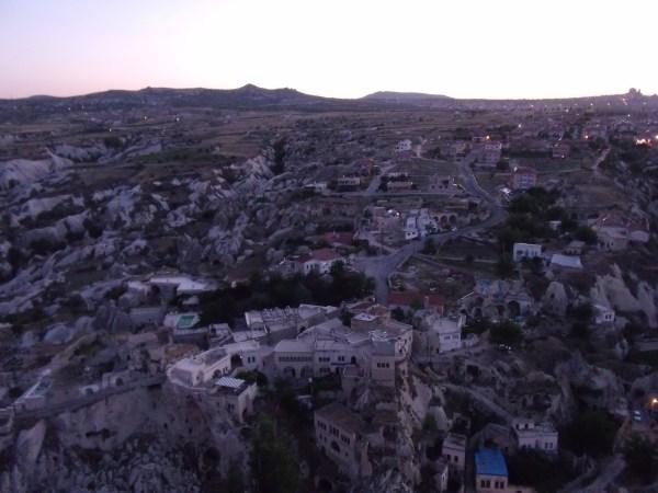 トルコ カッパドキア オルタヒサル城