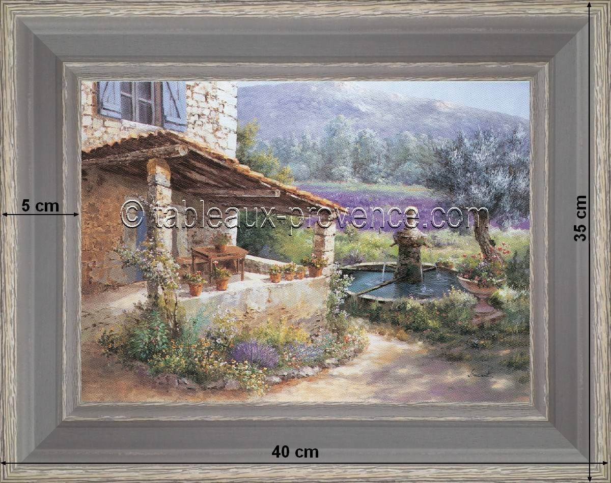 Provence Decoration Landscapes Of Provence A Country Decoration On Your Walls Paintings