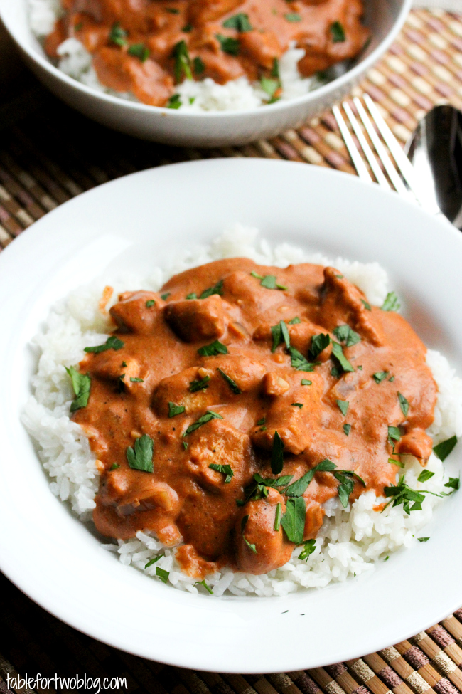 Tika Masala Slow Cooker Chicken Tikka Masala - Table For Two® By Julie