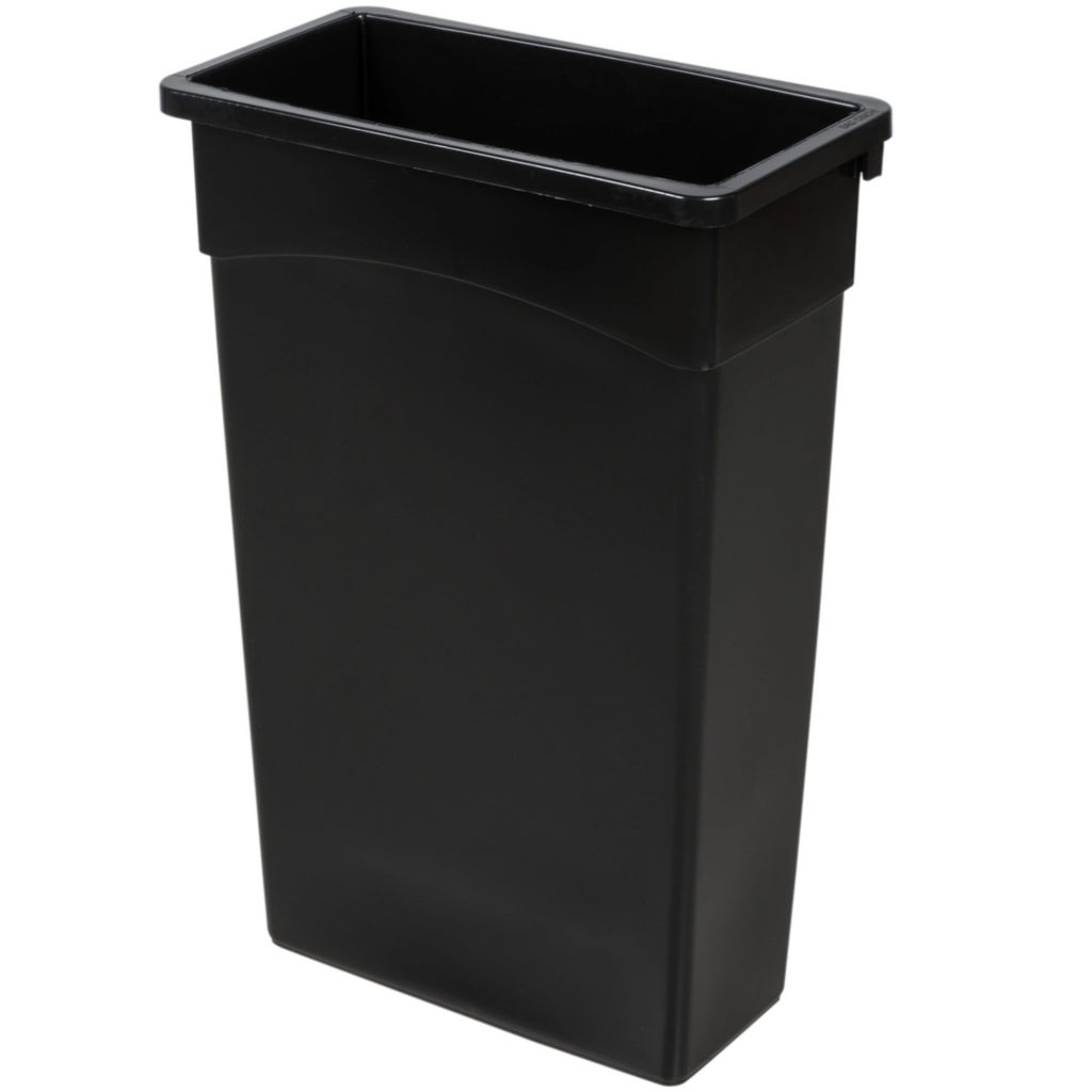 Tall Narrow Trash Can 35 Gallon Rectangle Trash Can Table Manners