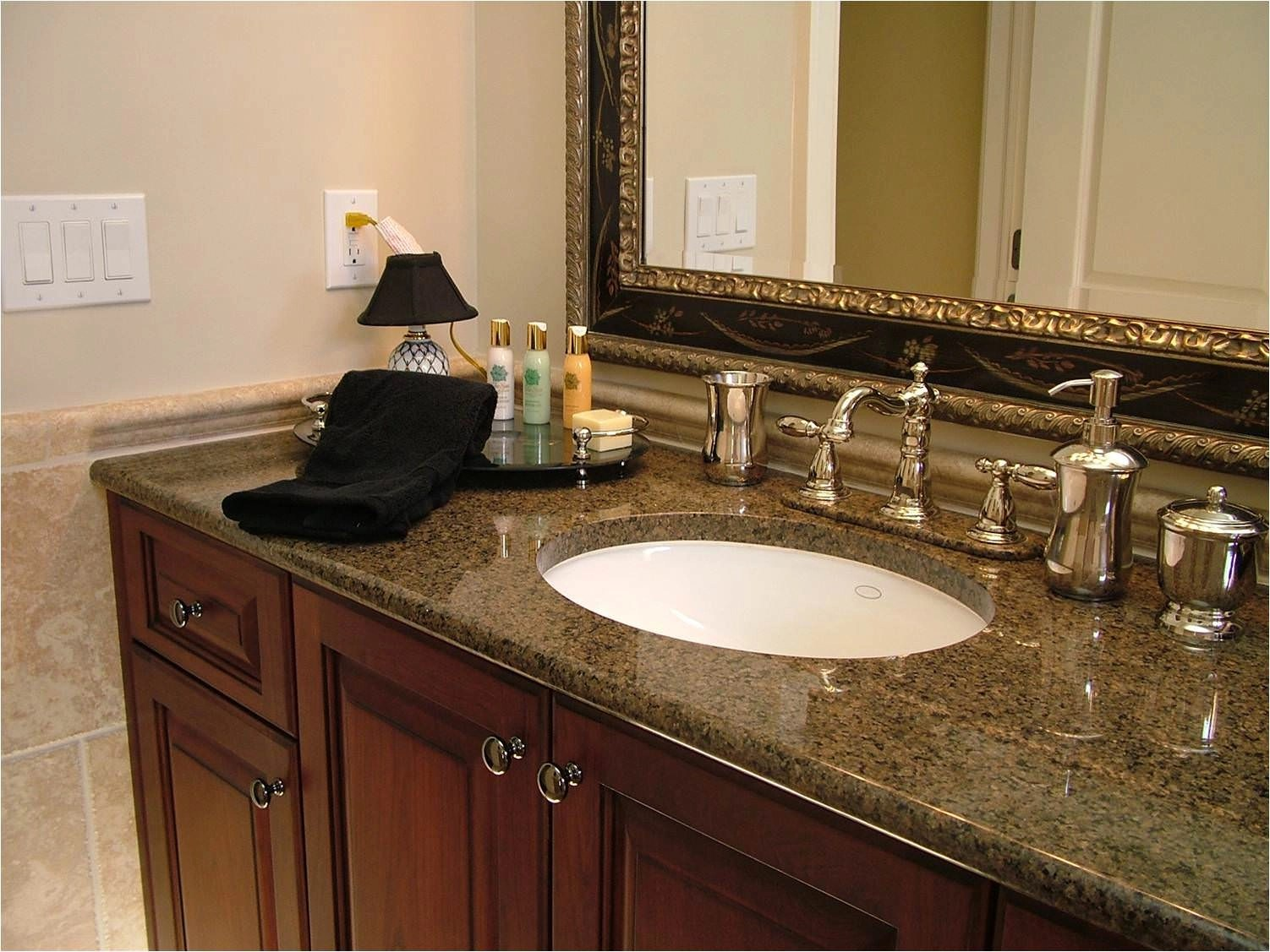Natural Way To Clean Granite Countertops Natural Stone Countertop For Your Bathroom