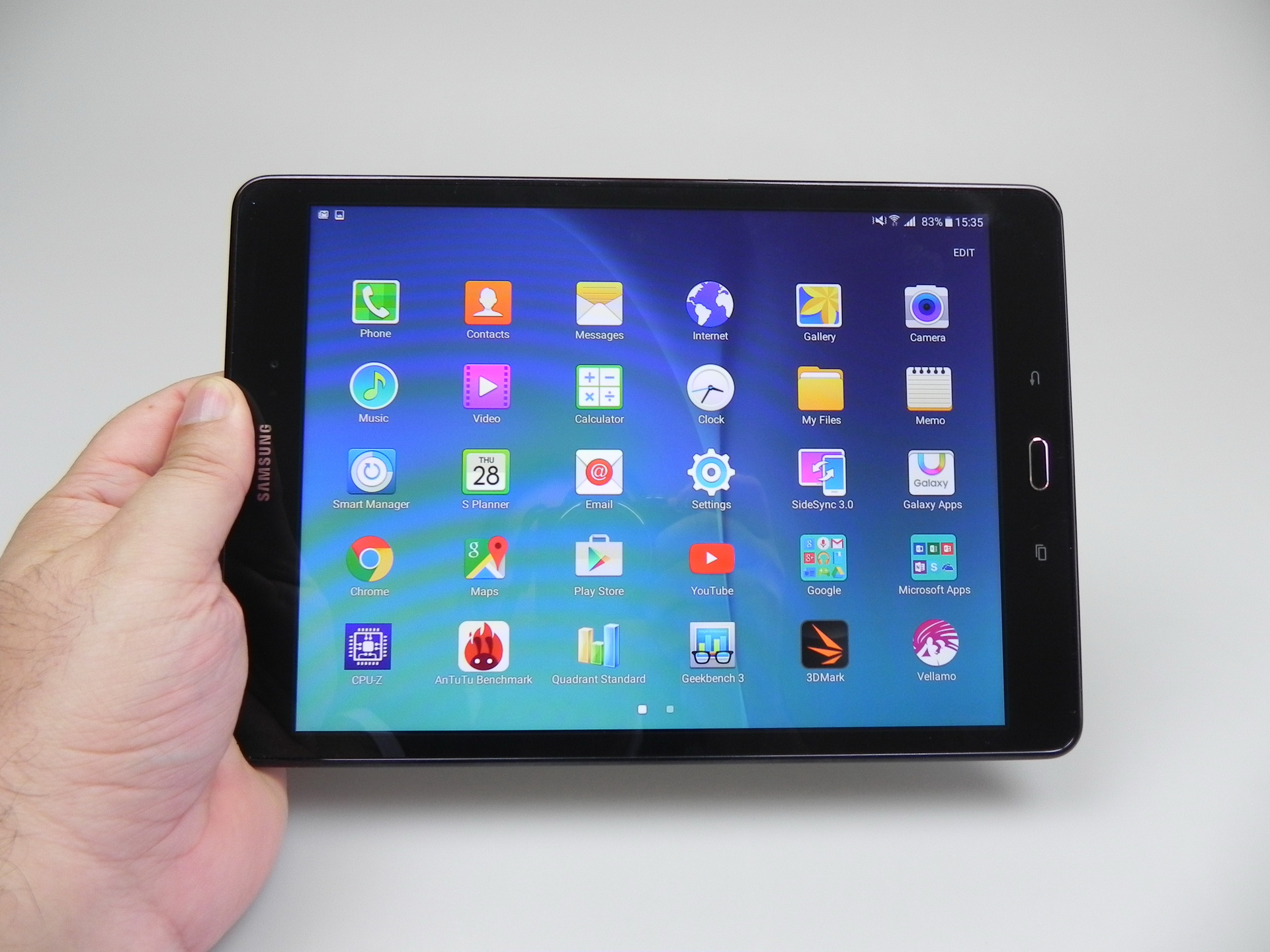 Galaxy Tab 9.7 Samsung Galaxy Tab A 9 7 Review Solid Midrange Tablet With Lte
