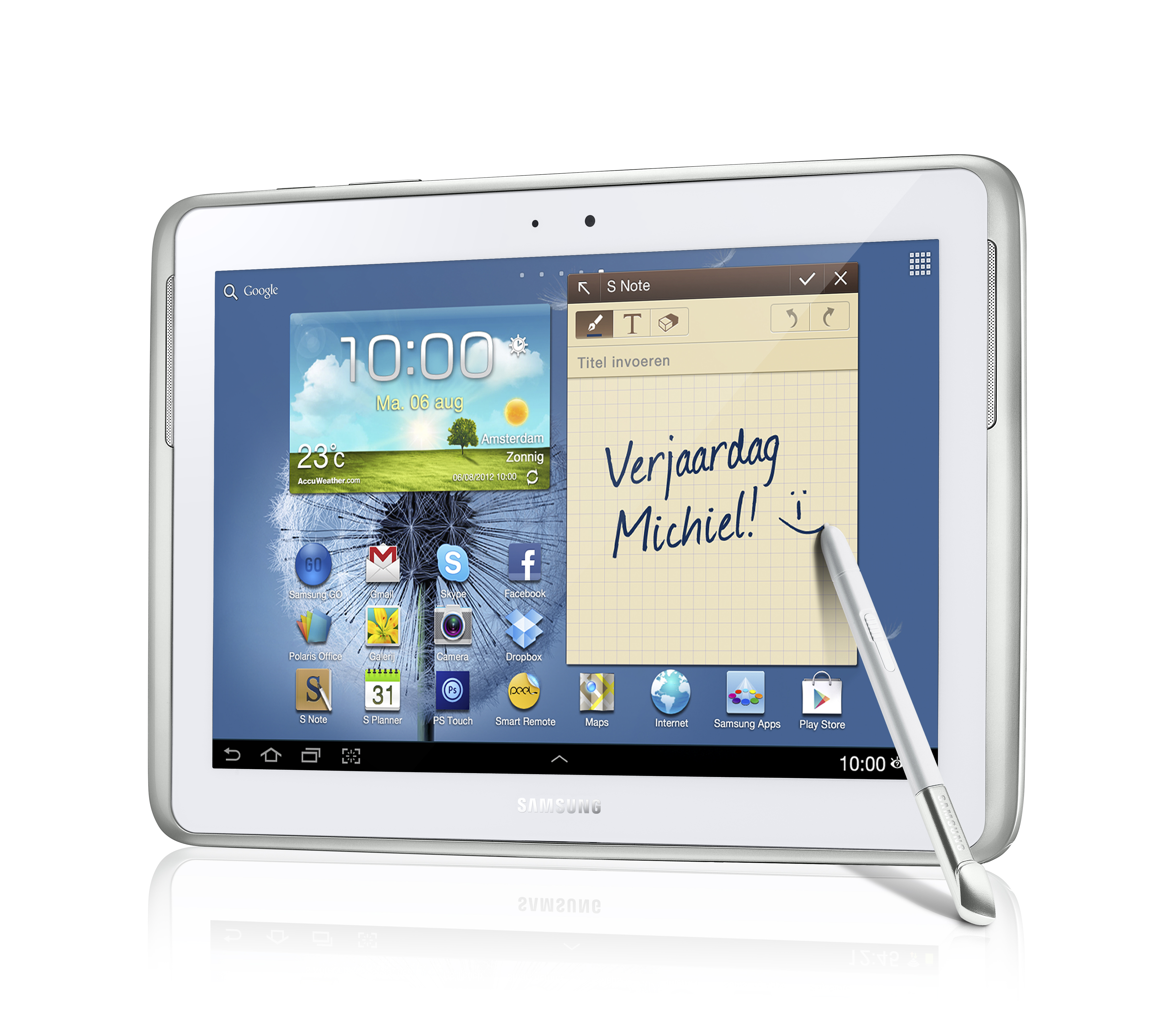 Tablet Kopen Samsung Galaxy Note 10 1 2012 Specificaties Review