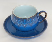 Denby Midnight Dinnerware & Peveril 4 Piece Place Setting ...