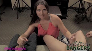 Bandwidth Bangers Madisin Lee – Mommy Jerks Off Her Son and His Friend