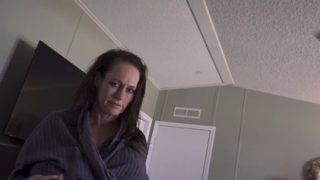 WCA Productions Sherry Stunns – Mom Wakes Son Up For School Part 4