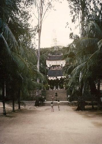 Một góc ảnh khác về chùa Long Sơn.