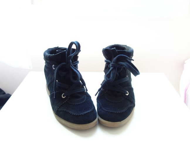 tache de rousseur new in sneakers bobby isabel marant