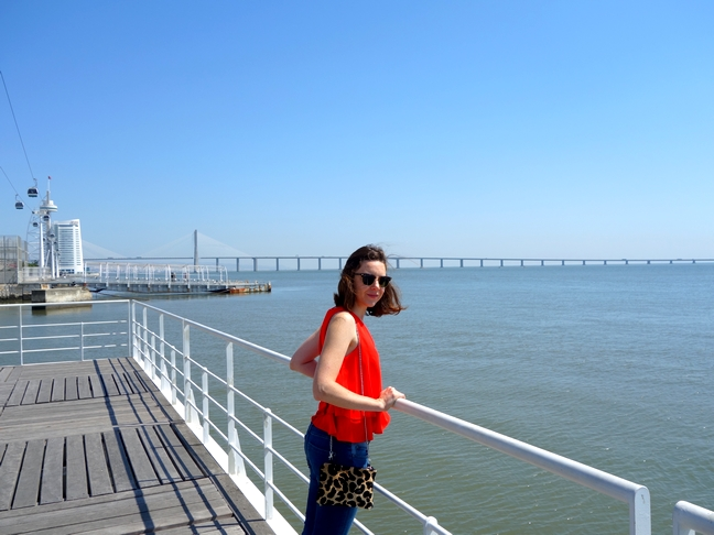 Blog Tache de Rousseur - Lisbonne look top mango (2)