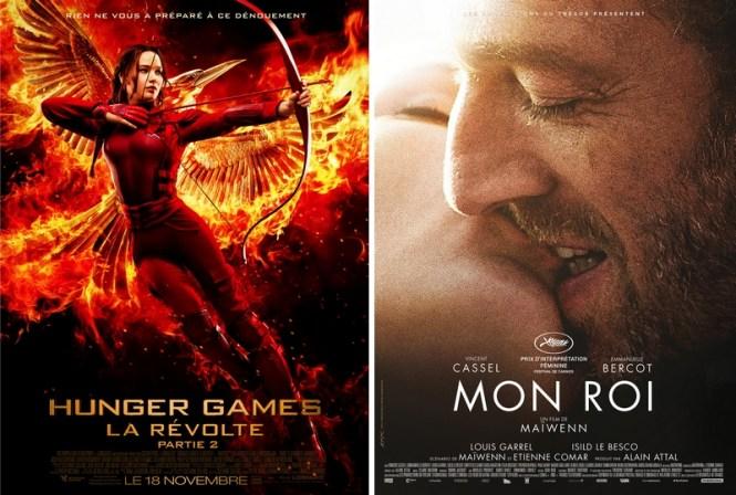 Chronique Ciinéma - Hunger Games La Révolte Partie 2 et Mon Roi