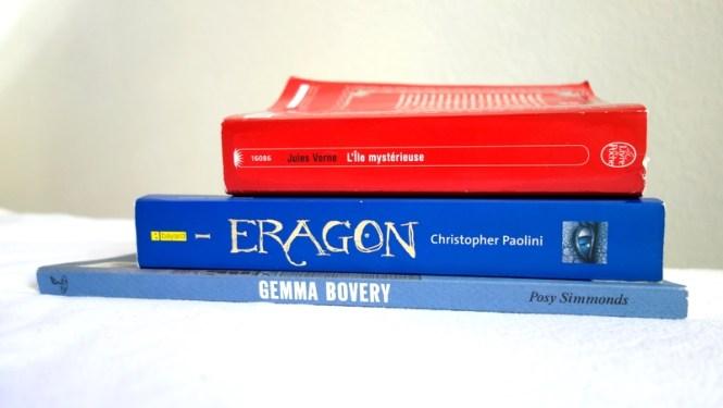 Mes lectures #4 - Gemma Arterton (Posey Simmonds), L'ile mystérieuse (Jules Verne) et Eragon (Christopher Paolini) - Blog Tache de Rousseur (1)