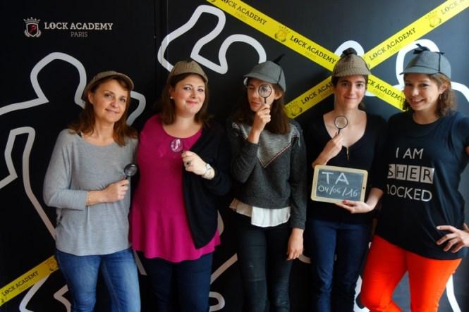 Escape Game Paris Lock Academy - Blog Tache de Rousseur