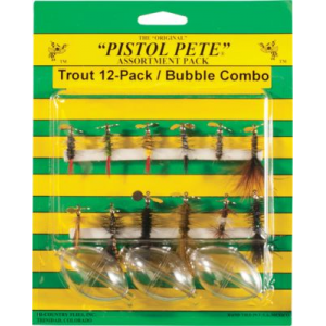 Hi-Country Flies Pistol Pete 12-Piece Spinner Assortment - Black