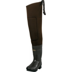 Cabela's Men's 5mm Neostretch Neoprene Hip Waders - Brown (11)