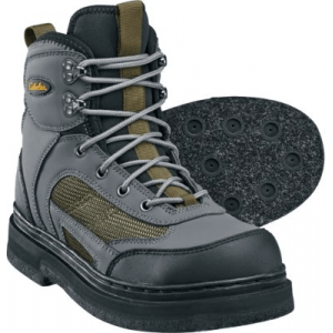 Cabela's Men s Ultralight Wading Boots with Felt Soles - Grey/Green (8)