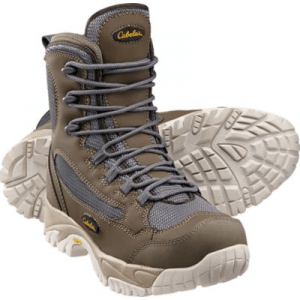 Cabela's Men's Bonesneaker Wading Boots - Brown/Grey (14)