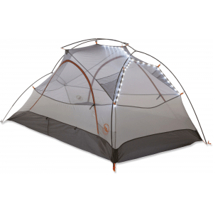Big Agnes Copper Spur UL 2 mtnGLO Tent Silver/Gray