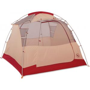 Big Agnes Chimney Creek 4 mtnGLO Tent Orange/Cream
