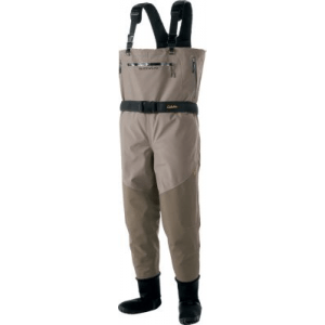 Cabela's Guidewear Men's Waders with 4MOST DRY-Plus - Tan (MEDIUM)