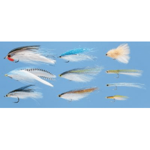 Umpqua 10-Piece Magnum Salt Fly Assortment - White